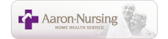 Aaron Nursing Home Health Service (logo)