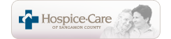 Hospice Care of Sangamon County (logo)